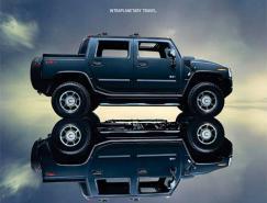 悍马汽车广告设计欣赏