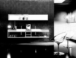 LinoCodato的极简主义风格室内设计