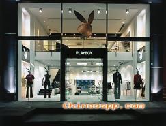 PLAYBOY專賣店賣場形象設計