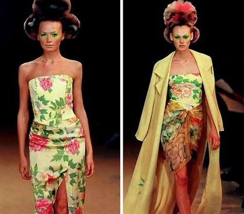 日本服装设计师高田贤三作品欣赏