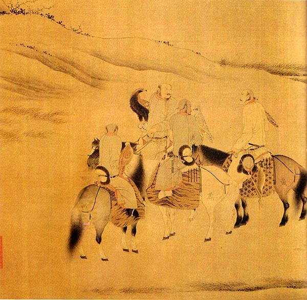 中国历代绘画作品欣赏 - 设计之家