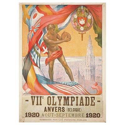 历届奥运会会徽设计