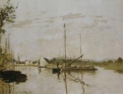 法国印象派绘画大师作品之莫奈