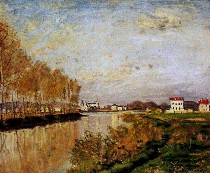 印象派大师莫奈作品_法国印象派绘画大师作品之莫奈 - 设计之家