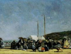 法国印象派绘画大师作品之尤金·布丁
