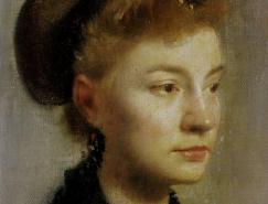 法国印象派绘画大师作品之德加