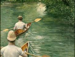 法国印象派绘画大师作品之卡耶博特