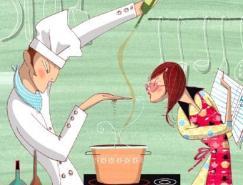 <b>Nathalie&nbsp;dion的插画欣赏</b>