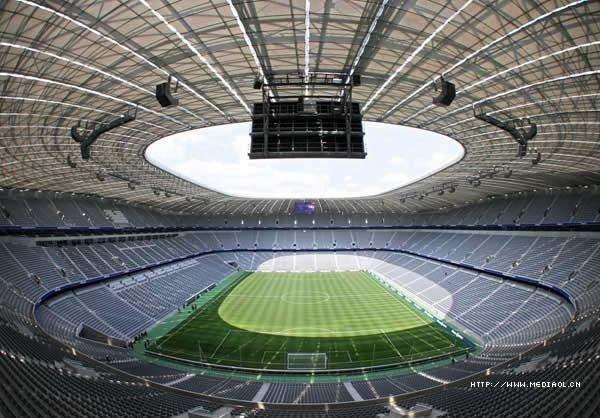 德国安联球场(AllianzArena)设计欣赏