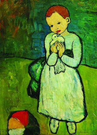 毕加索作品 毕加索作品赏析 鸽子图片高清图片
