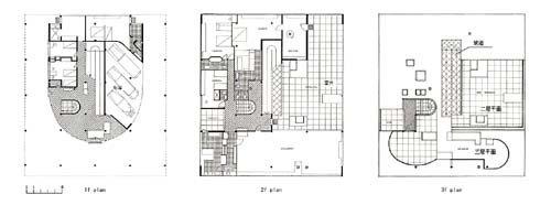萨伏伊别墅立面图-现代建筑大师系列之勒 柯布西耶 Le Corbusier