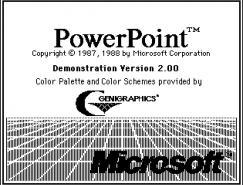 PowerPoint啟動畫面演變