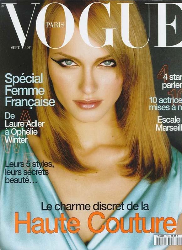 时尚杂志vogue封面设计欣赏