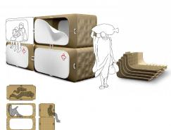 NewDeal设计的简易救灾设施