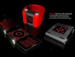 三面折叠手表手机(Triple&nbsp