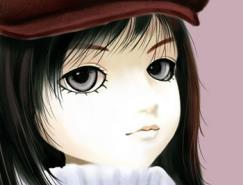 Painter8繪制可愛SD娃娃