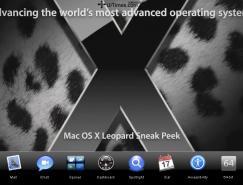 Apple最新操作系統Leopard清晰截圖