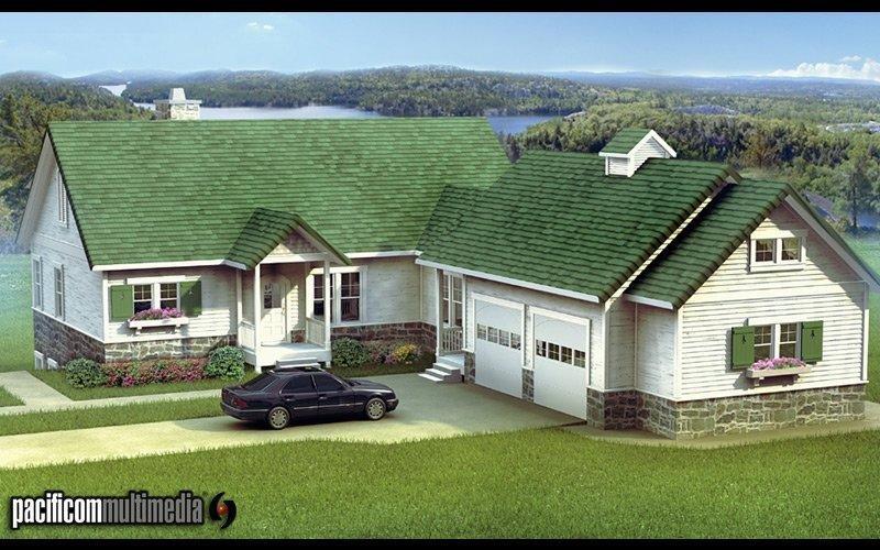 国外乡村别墅设计 小别墅外墙砖效果图 国外乡村别墅设计