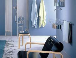 簡約時尚的衛浴空間