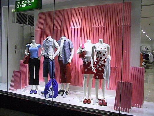 国外商店橱窗设计