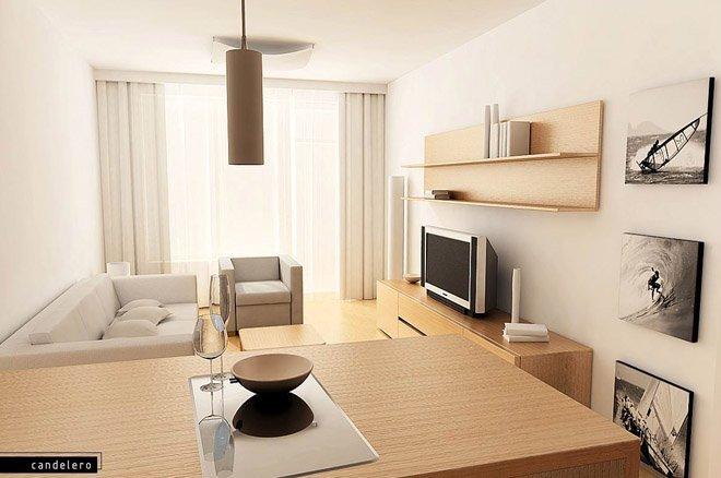 客厅电视墙效果图设计欣赏(9)