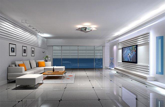 客厅装修效果图欣赏(4) - 设计之家