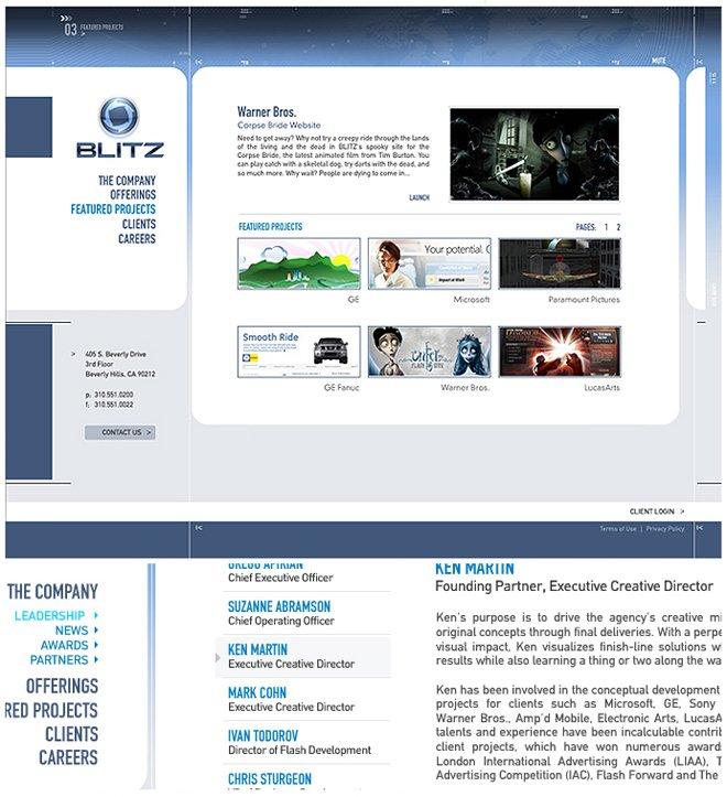 国外一组精美网页设计欣赏