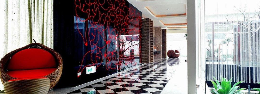 台湾汽车旅馆内部空间设计