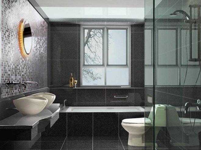 卫生间装修效果图欣赏(7)