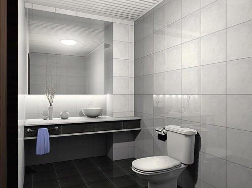 卫生间装修效果图欣赏(8)