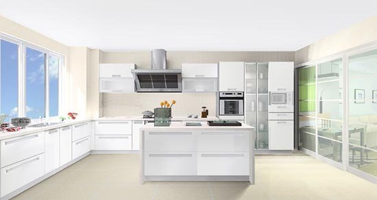 厨房装修效果图欣赏