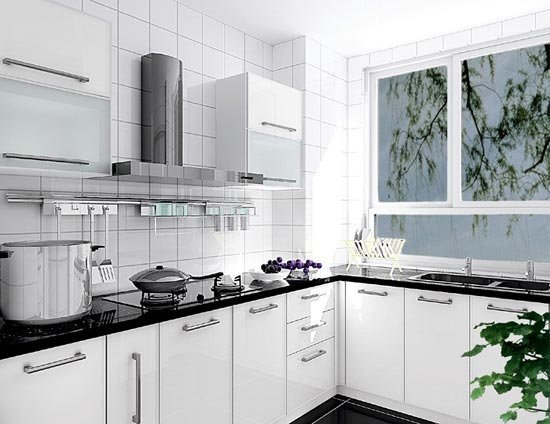 厨房装修效果图欣赏(3)