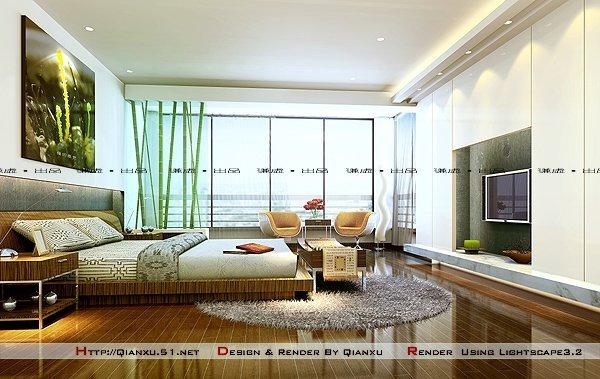 卧室装修效果图欣赏(10) - 设计之家