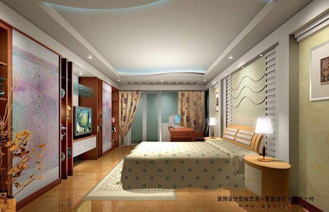 卧室装修效果图欣赏(13) - 设计之家