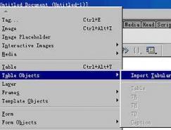 用Dreamweaver进行数据库操作