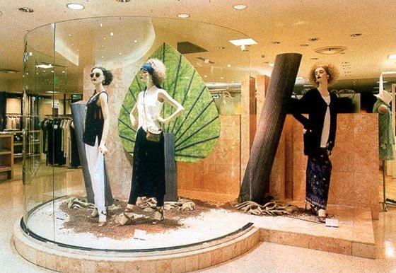 橱窗设计---服饰类(一)