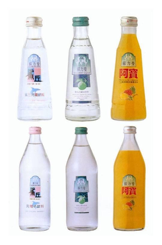 一组饮料包装设计欣赏
