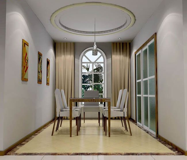 家装:餐厅效果图设计欣赏(一)