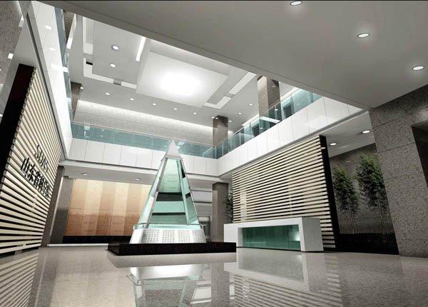 大堂效果图设计欣赏(一)(4) - 设计之家