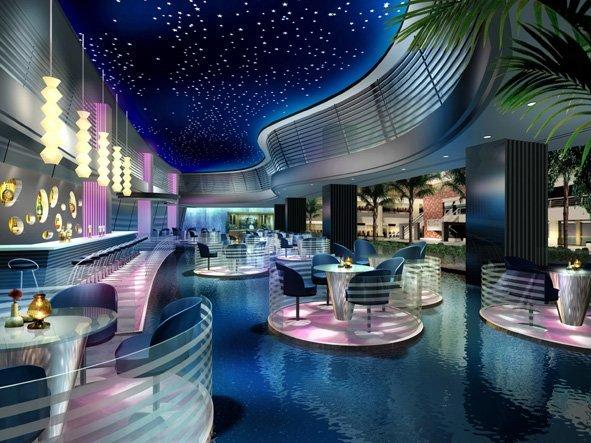 酒店餐厅效果图欣赏(7) - 设计之家