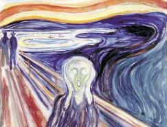 挪威表现主义绘画大师爱德华