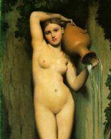 法國古典主義畫家安格爾(In