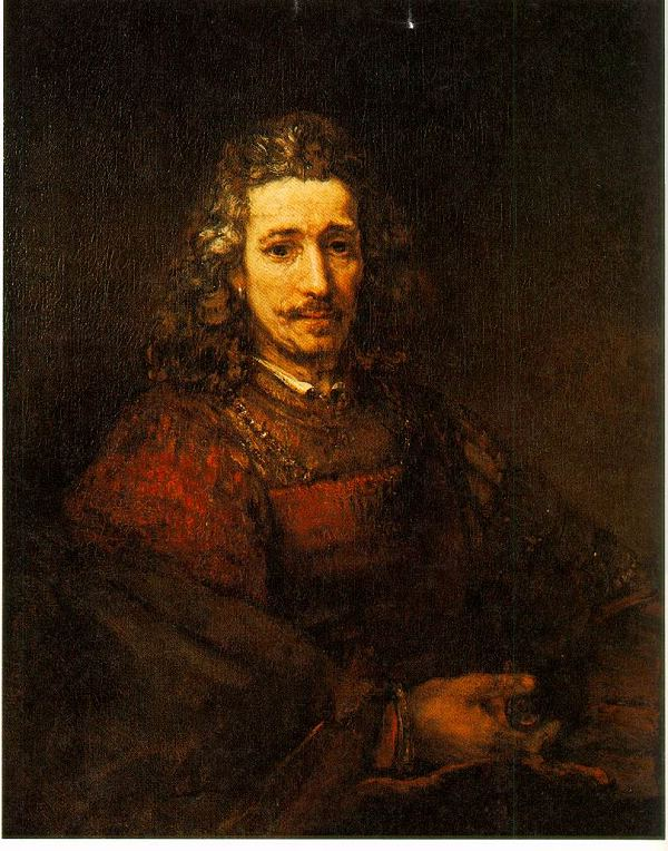 荷兰现实主义画家伦勃朗(Rembrandt)