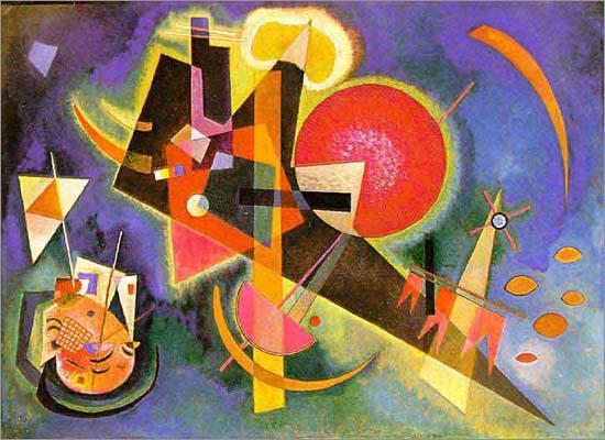 现代抽象绘画的创始人:瓦西里·康定斯基(3)