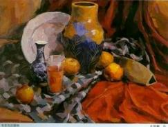 陶罐和花瓶的画法