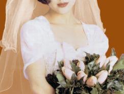 Photoshop婚纱抠图