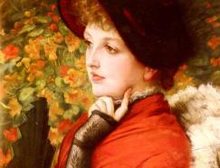 法国新古典主义画家雅姆·蒂索
