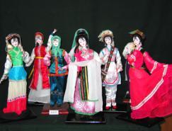 中国民间艺术:北京绢人