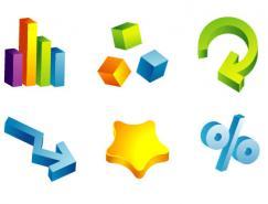 Illustrator制作矢量3D图标