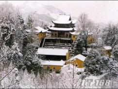 Photoshop打造雪景水墨画